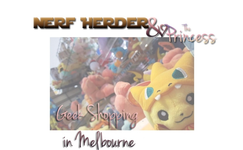 Where to go Geek Shopping in Melbourne